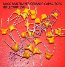 25 Pezzi Condensatori ceramica MLCC 474, 470nF 50V 20% Dielettrico Z5U