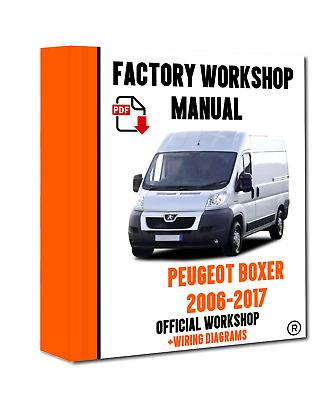 >> official workshop manual service repair peugeot boxer 2006 - 2017 wiring  | ebay