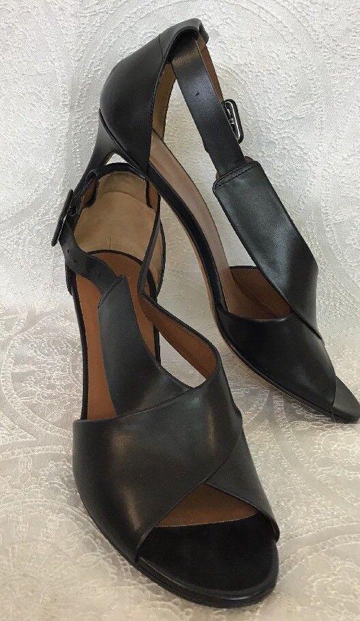 Givenchy Givenchy Givenchy Zapato Negro Hebilla Lateral Tacón Bajo Talla 40  orden en línea