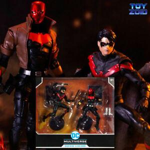Nightwing VS Red Hood DC Multiverse 2 Pack Mcfarlane