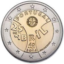 Portugal 2 Euro (€2) commemorative coin 2014 Carnation Revolution - UNCIRCULATED