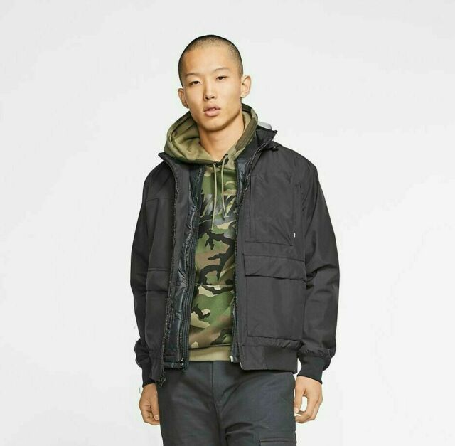 No esencial término análogo cesar  Nike Men's Av15 Quilted Jacket in Black 806859-010 L for sale | eBay