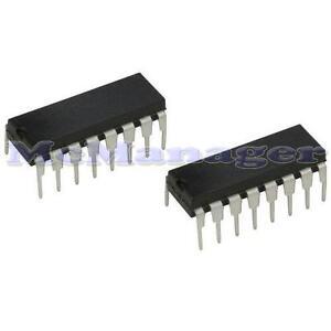 2x CD4520BE HCF4520 MC14520 Dual Binary Count C-MOS IC