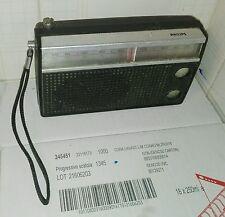 Radio d'epoca Philips Vintage Da Collezione Per Ricambi Non Sapendo Se Funziona
