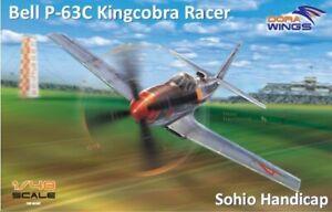 Dora Ailes 48007 1:48th échelle Bell P-63 Kingcobra Racer Sohio Handicap-afficher Le Titre D'origine