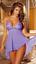 Sexy-lingerie-halterneck-chemise-babydoll-nightwear-sleepwear-thong-size-8-24 thumbnail 3