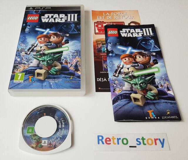 Sony PSP - LEGO Star Wars III 3 : The Clone Wars - PAL