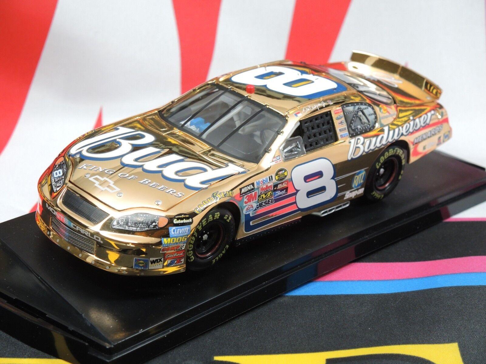 Dale Earnhardt Jr  8 Budweiser 2005 1 24 Elite  - 24 Karat or  excellent prix
