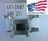 Telemecanique Schneider Coil Lx1-d6b7 24vac Contactor Lc1d40-lc1d95