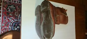 russell moccasin boots handmade 10D