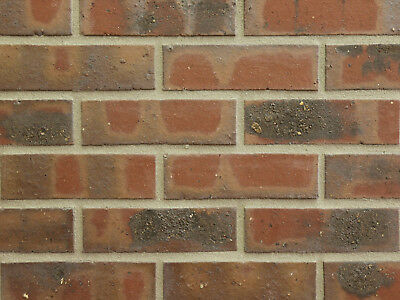 Heimwerker Verbelnder Strangpress B-lochung Nf Bh579 Rot Kohlebrand Klinker Fassade Hell In Farbe Baustoffe & Holz