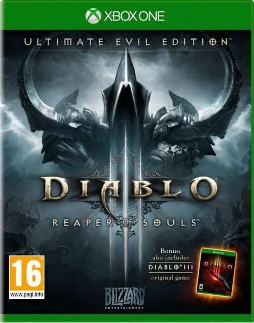 DIABLO 3 III ULTIMATE EVIL EDITION CASTELLANO ESPAÑOL NUEVO PRECINTADO XBOX ONE