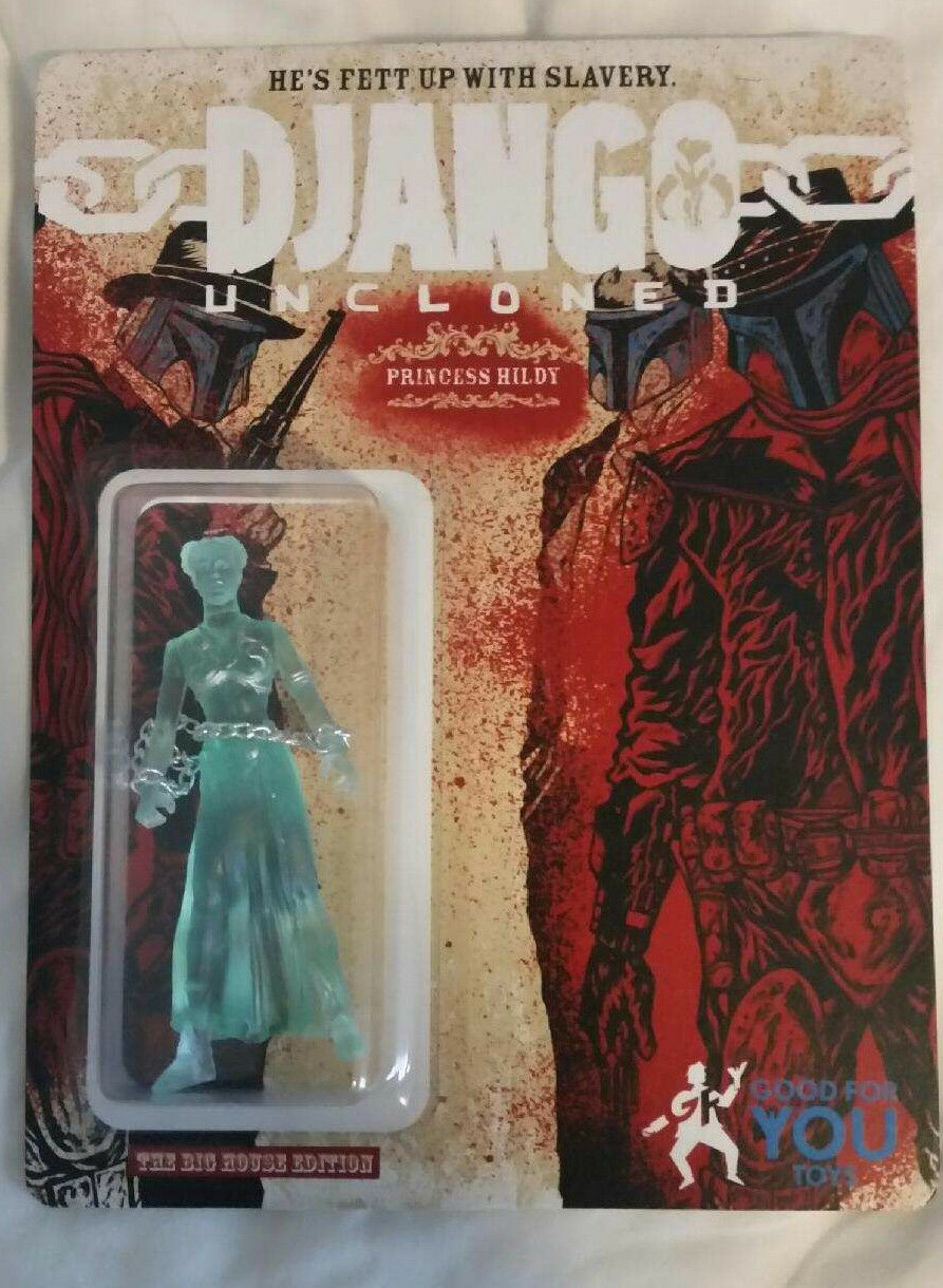 DesignerCon 2014 DKE Toys Django Princess Hildy Hologram Slave Leia Star Wars