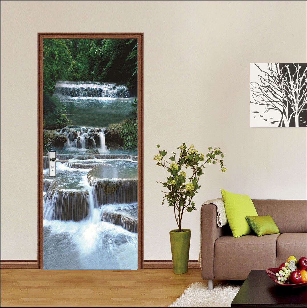 3D Stream Tür Wandmalerei Wandaufkleber Aufkleber AJ WALLPAPER WALLPAPER WALLPAPER DE Kyra | Eine Große Vielfalt An Modelle 2019 Neue  | Großer Räumungsverkauf  | Zu verkaufen  d42f98