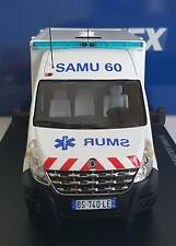 AMBULANCE SAMU 60 CENTRE HOSPITALIER DE COMPIEGNE RENAULT MASTER 3 CAISSON 1/43
