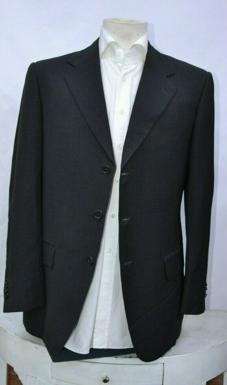 New Castangia luxury mens jacket made in  wool 3btn sz 50eu 40us