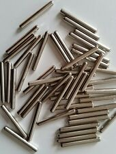 "50 Nickel Plated Desk Pins Piano Zither Dulcimer Harpsichord Harp 1-1/4"" x .146"""