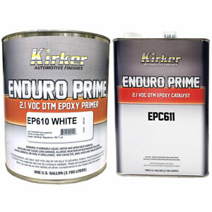 Details about Kirker Enduro Prime Epoxy Primer White 1 gal of EP610 & 1 gal  of Catalyst EPC611