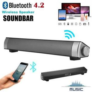 Soundbar-For-TV-PC-Speakers-Wireless-Bluetooth-4-2-Home-Theater-System-AUX-TF