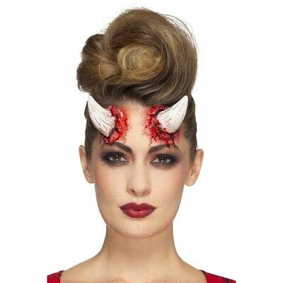 Flight Tracker Devil Corno Protesi In Lattice Special Fx Halloween Fancy Dress Make Up-mostra Il Titolo Originale