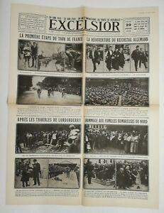 N730-La-Une-Du-Journal-Excelsior-29-juin-1920-premier-etape-tour-de-France