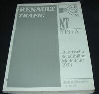 Werkstatthandbuch Elektrik Renault Trafic I elektrische Schaltpläne ab 1998!