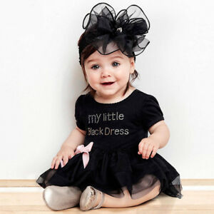 93abf39fee52 Image is loading Newborn-Baby-Girls-Cotton-Lace-Short-Sleeve-Little-