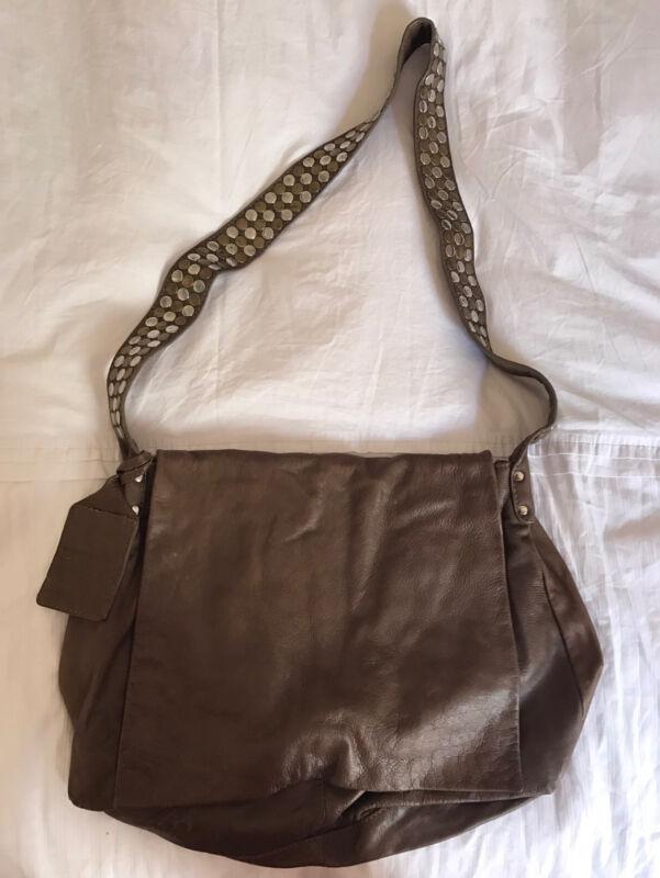 Handbag- Brown crossbody leather