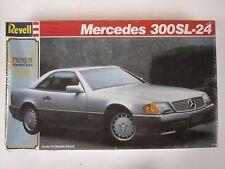 Factory Sealed Revell  Mercedes 300SL-24 1:24 Model Car Kit #7437