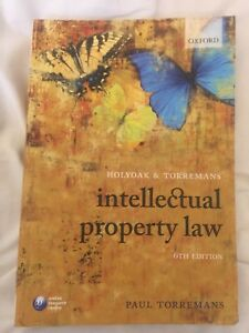 Holyoak-and-Torremans-Intellectual-Property-Law-by-Paul-Torremans-Paperback
