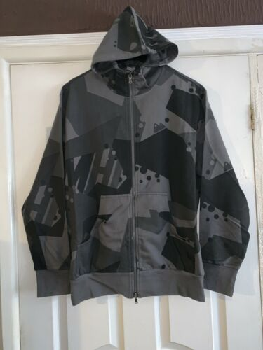 ***VISIT OUR  STORE*** MAHARISHI MENS CHARCOAL DPM HOODED SWEAT M-90!!
