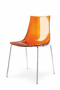 Calligaris Connubia Moderne Design Sedia Led 1298 In Molti Colori Disponibili Ebay