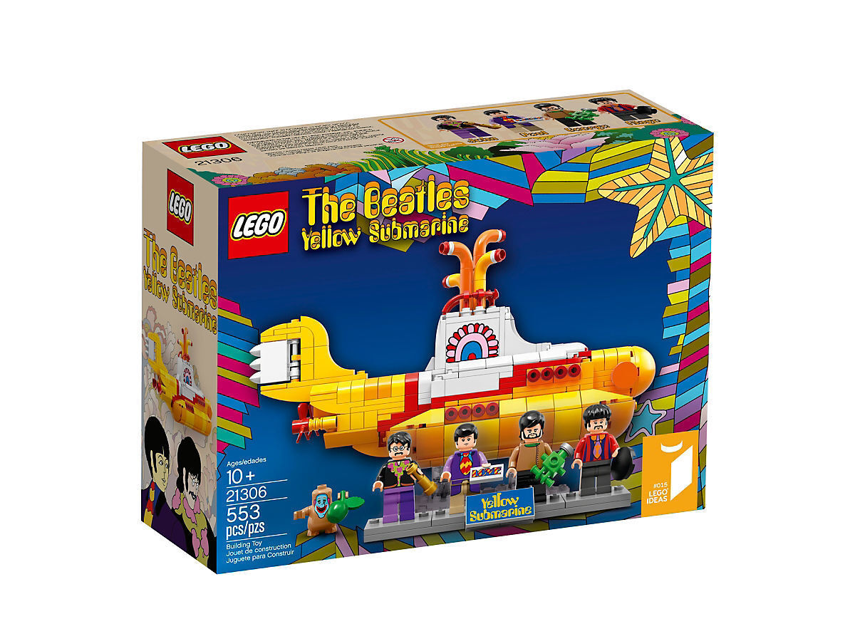 LEGO 21306 Beatles Gelb Submarine
