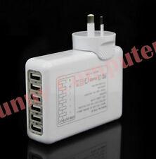 6 Ports USB AC Wall Charger AU Plug Adapter for iPhone iPod iPad Air Mini 5 4 3
