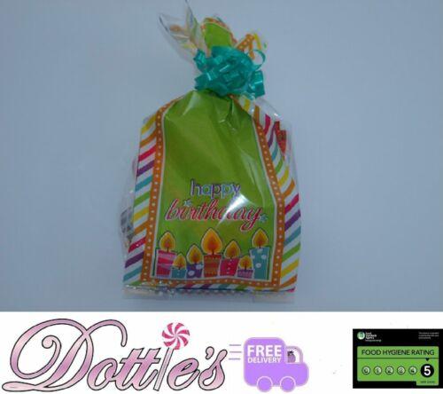 X10 Pre Relleno Fiesta de Cumpleaños Bolsas De Regalo De Chocolate Dulces /&