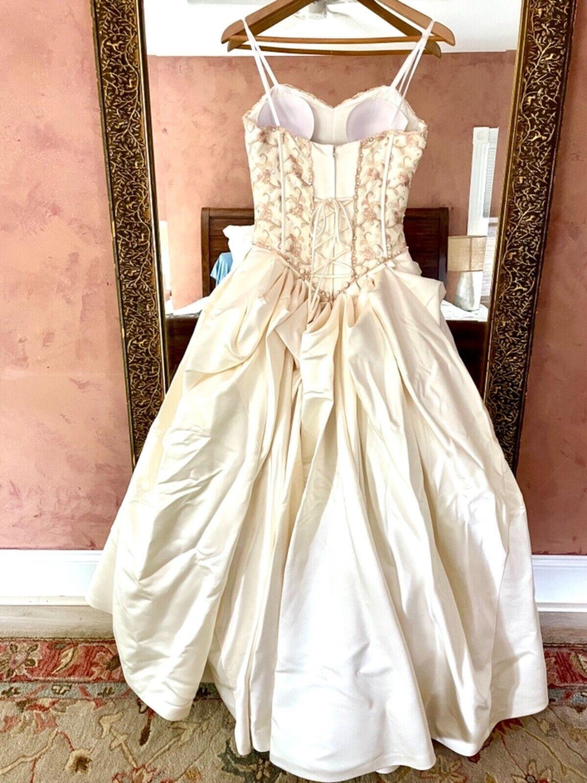 French bustle, corset, vintage, Victorian, Swarov… - image 2