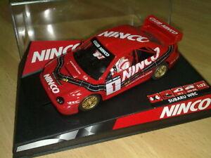 Capable Ninco 50293 Subaru Wrc Num.1 Club Ninco