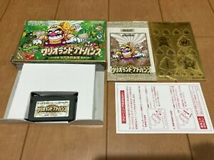 Gameboy-Advance-WarioLand-with-Box-amp-Manual-Japan