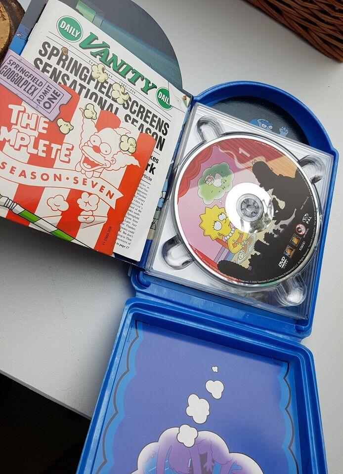 The Simpsons - sæson 7, DVD, tegnefilm