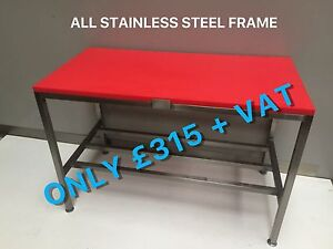 NEW-BUTCHERS-BLOCK-TABLE-CHOPPING-CUTTING-BENCH-1500-mm-POLY-POLI-TOP