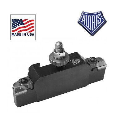 Aloris Universal Tool Holder AXA-16N Neg. Combo Turning Facing Triangular Insert