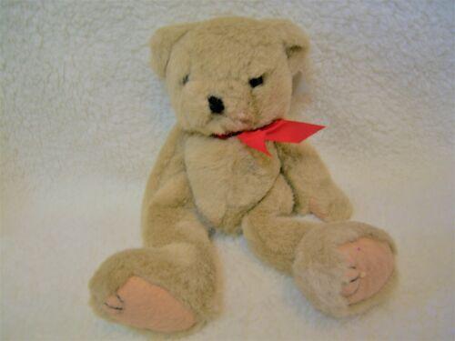 "Vtg Long Legged Teddy Bear Plush  8/""  Stuffed Toy Light Brown"
