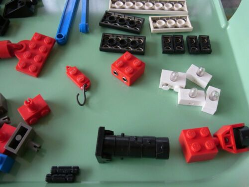 Lego Eisenbahn Riesenkonvolut Räder Reifen Schienen Motor viel Zubehör u.s.w. Baukästen & Konstruktion