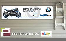 BMW HP4 Banner for Workshop, Garage, Pit lane, 1300mm x 325mm