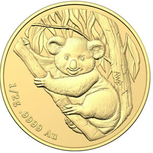 Goldmünze 0.5g Mini Koala 2021 Royal Australian Mint im Blister