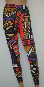 Pantaloni sportivi Gogo Lang retrò colorato S 34 36 M 38 40 Danza Fitness Gilda Marx  </span>