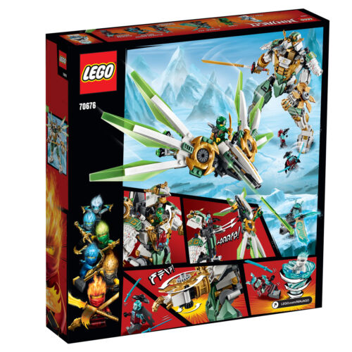 70676 LEGO Ninjago Lloyd/'s Titan Mech Action Figure Masters of Spinjitzu 876pcs
