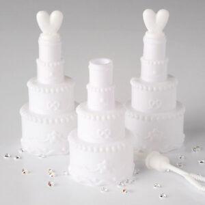 Segnaposto Matrimonio Bolle Di Sapone.48 Segnaposto Bolle Di Sapone Matrimonio Modello Torta Nuziale