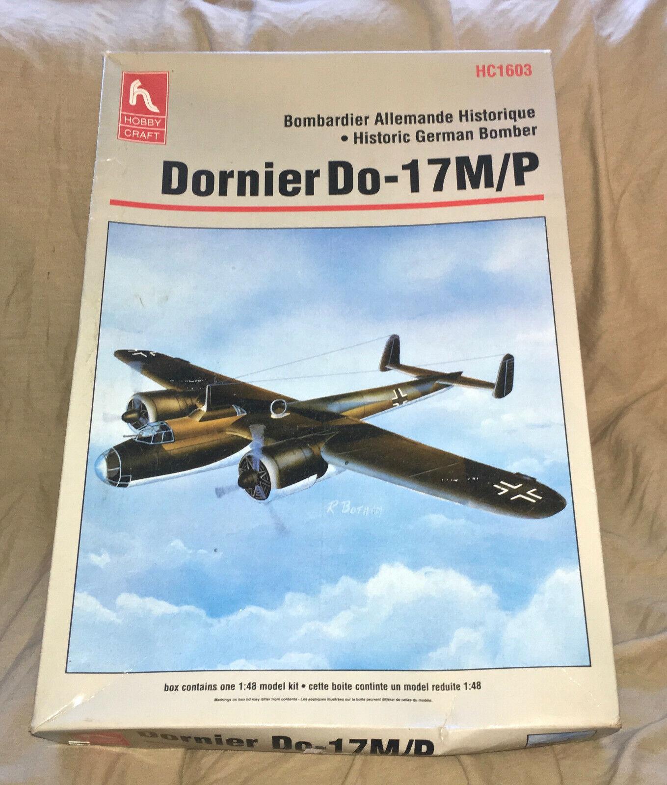 1 48 Hobby Craft Historic German Bomber Dornier Do- 17 M P KitHC 1603