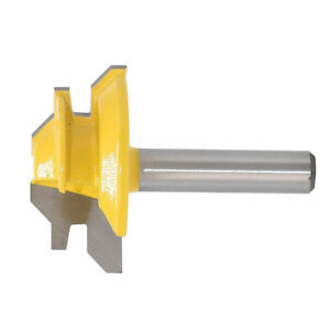 Woodworking Tool 45 Degree Glue Joint Cutter Router Bit 8mm Shank